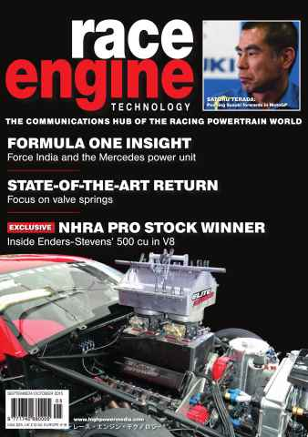 Race Engine Technology issue 89 Sep-Oct 2015