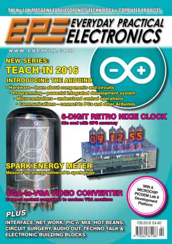 Everyday Practical Electronics issue Feb-16