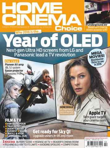 Home Cinema Choice issue February 2016