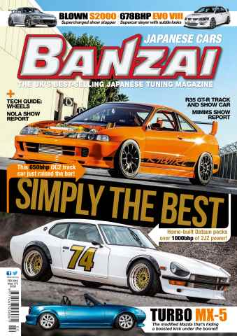 Banzai issue February 16