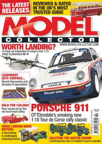 Model Collector issue February 2016