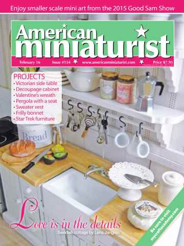 American Miniaturist issue Issue 154