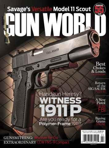 Gun World issue February 2016