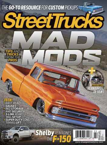 Street Trucks issue February 2016