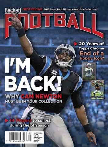 Beckett Football issue  February 2016