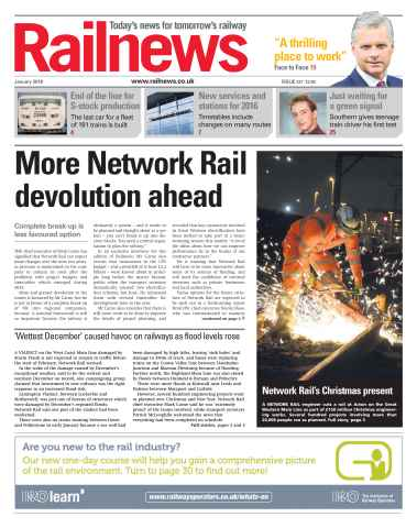 Railnews issue January 2016