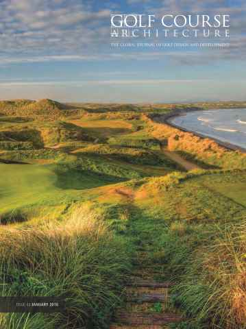Golf Course Architecture issue January 2016