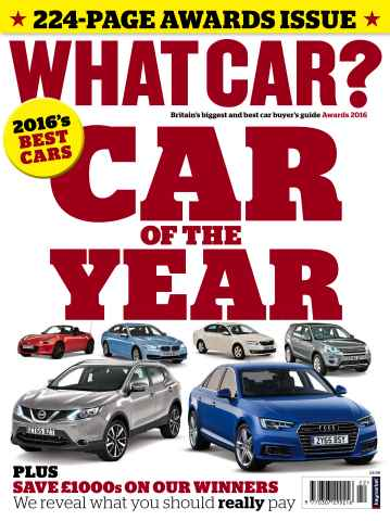 What Car Magazine issue Awards 2016