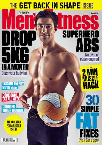 Men's Fitness issue March 2016