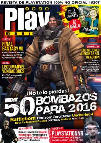 Playmania issue 207