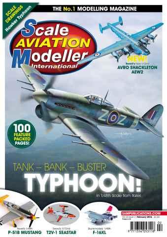 Scale Aviation Modeller Internat issue SAMI Vol 22 Iss 2 February 2016