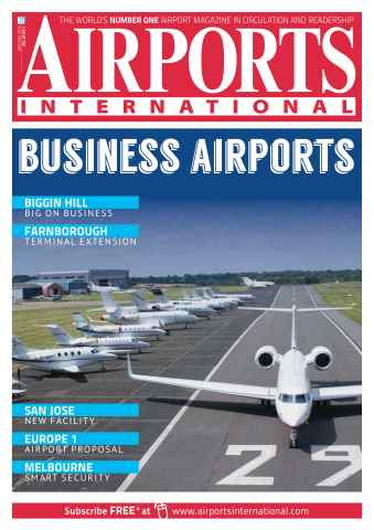 Airports International issue Jan/Feb 2016