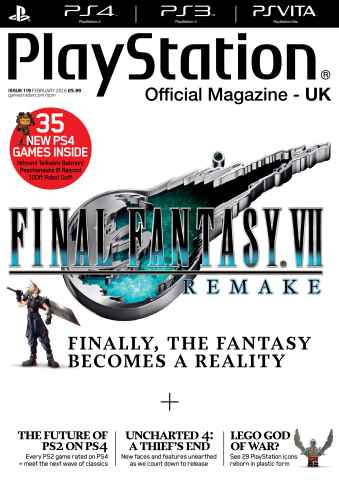 Playstation Official Magazine (UK Edition) issue February 2016
