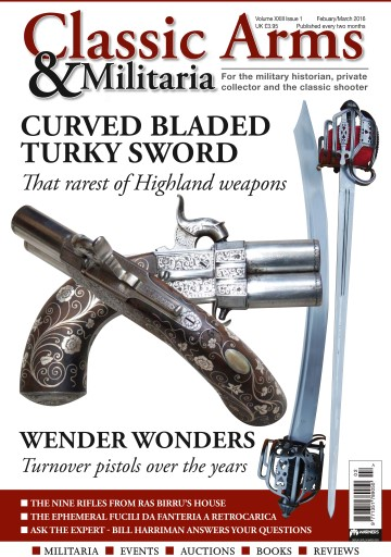 Classic Arms & Militaria issue Feb/March/16