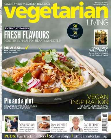 Vegetarian Living issue Feb-16