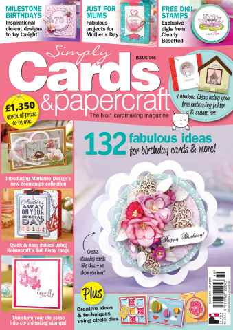 Simply Cards & Papercraft issue 146