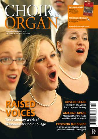 Choir & Organ issue Choir & Organ Nov-Dec 2011