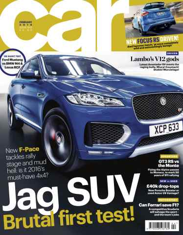 Car issue February 2016