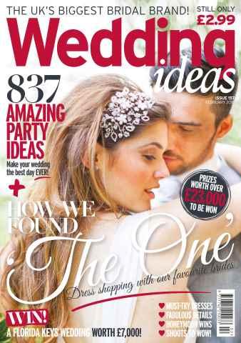 Wedding Ideas magazine issue February 2016