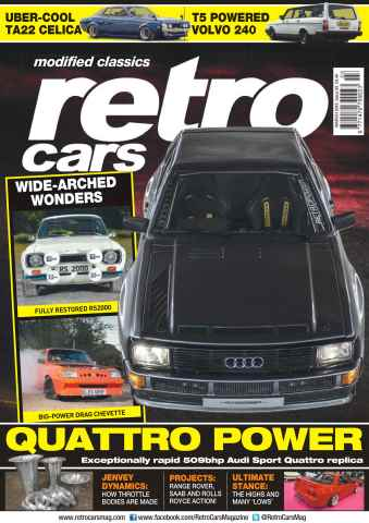Retro Cars issue No. 93 Quattro Power