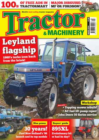 Tractor & Machinery issue Vol. 22 No. 4 Leyland flagship
