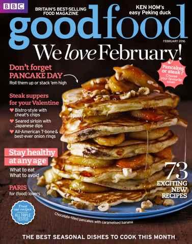 BBC Good Food issue February 2016
