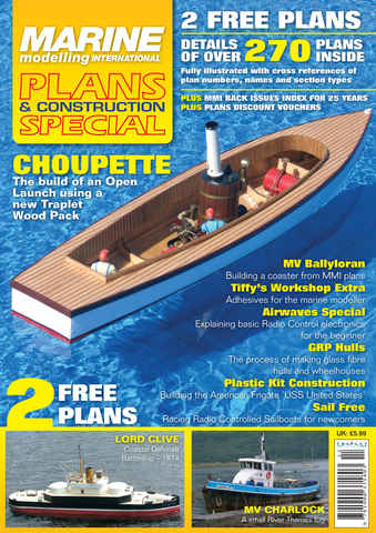 Marine Plans & Construction issue MMI Plans and Construction Spec