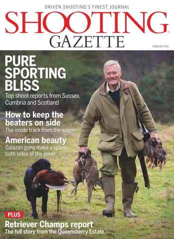 Shooting Gazette issue February 2016