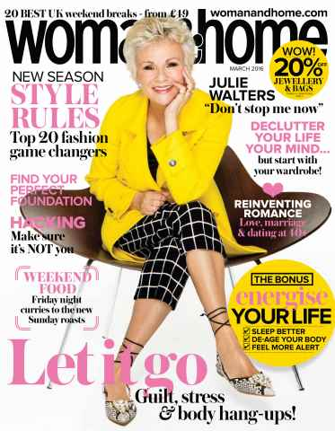 Woman & Home issue March 2016