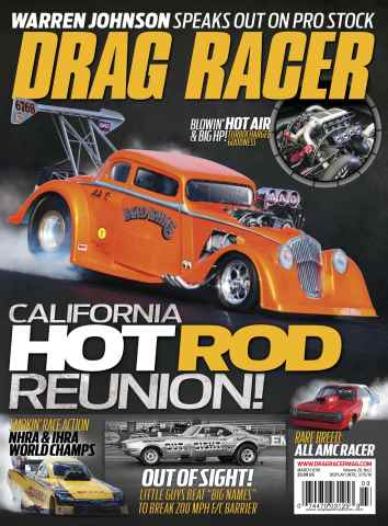 Drag Racer issue March 2016