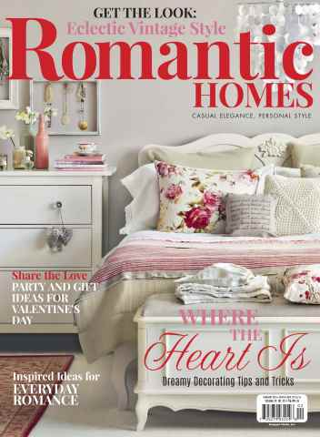 Romantic Homes issue February 2016