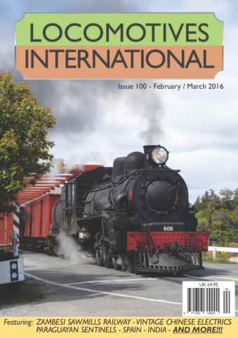 Locomotives International issue Issue 100 - February March 2016