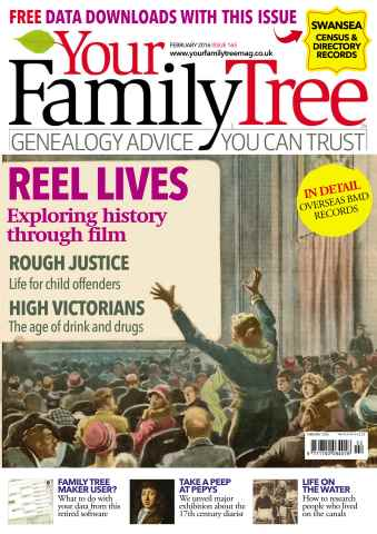 Your Family Tree issue February 2016
