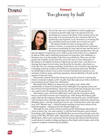 Prospect Magazine Preview 3