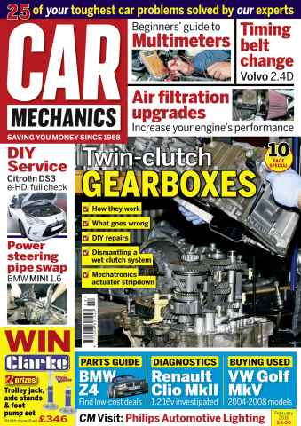 Car Mechanics issue February 2016