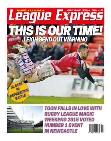 League Express issue 3002