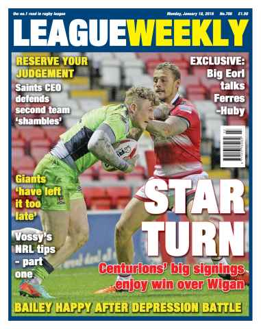 League Weekly issue 17/01/2016