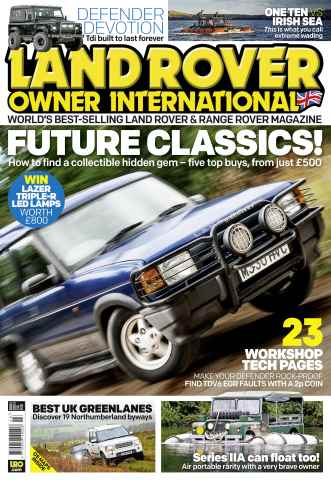 Land Rover Owner issue March 2015