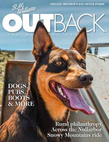 OUTBACK Magazine issue OUTBACK 105