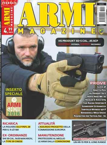 ARMI MAGAZINE issue Febbraio 2016