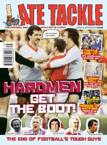Late Tackle Football Magazine issue JanuaryFebruary 2016
