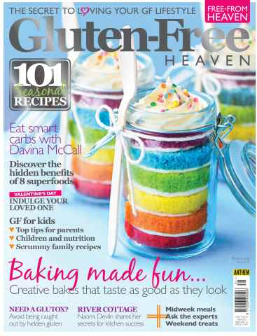 Gluten-Free Heaven issue Gluten-Free Heaven February/March