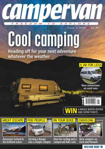 Campervan issue Issue 1 2016