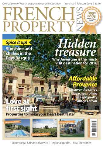French Property News issue February 2016