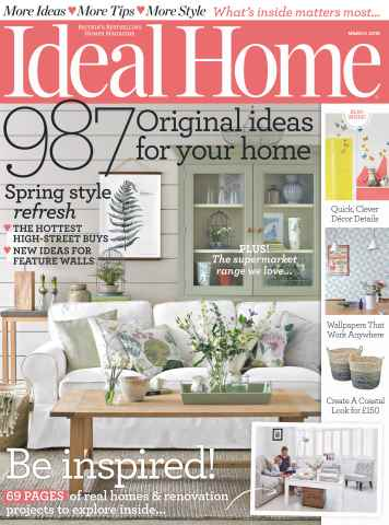 Ideal Home issue March 2016