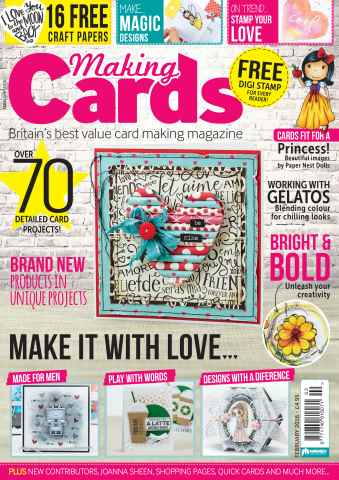 Making Cards issue February 2016