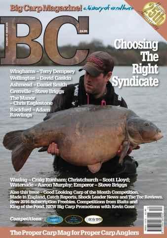 Big Carp Magazine issue Big Carp 235