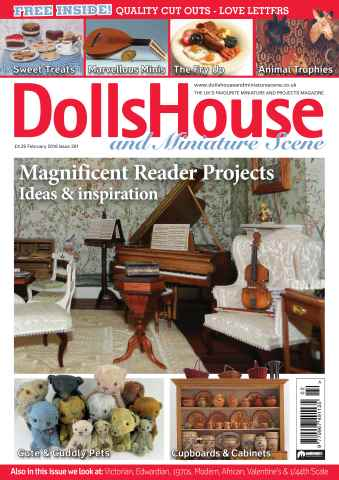 Dolls House and Miniature Scene issue February 2016 (Iss 261)