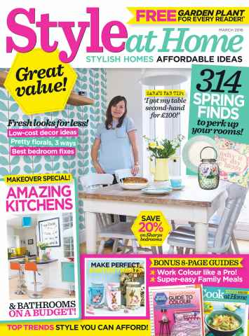 Style at Home issue March 2016