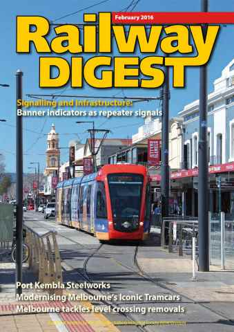 Railway Digest issue February 2016